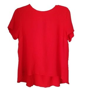 Michael Kors Red  Top